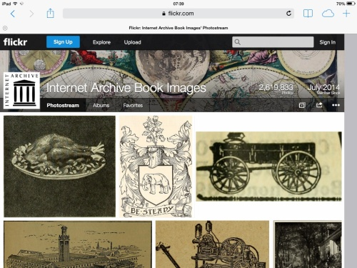 Screenshot of Archive Book Images